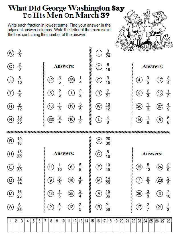 Math 6 Miss Fredericks Classroom – Least Common Multiple and Greatest Common Factor Worksheets
